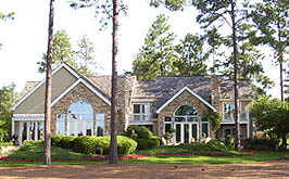 Club cottages are a great Pinehurst real estate option for part-time residents.