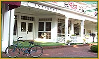 Shop and dine at unique places around the Pinehurst and Southern Pines area.  Everything from Seagrove North Carolina pottery shops and kilns to quaint Cameron antique shops.